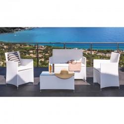 Muebles en Aluminio con Ecomadera