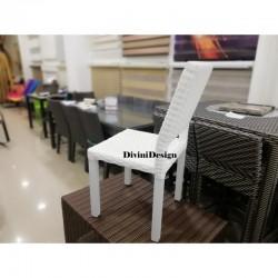 Muebles divini design muebles para exterior divini design for Sofa exterior aluminio blanco